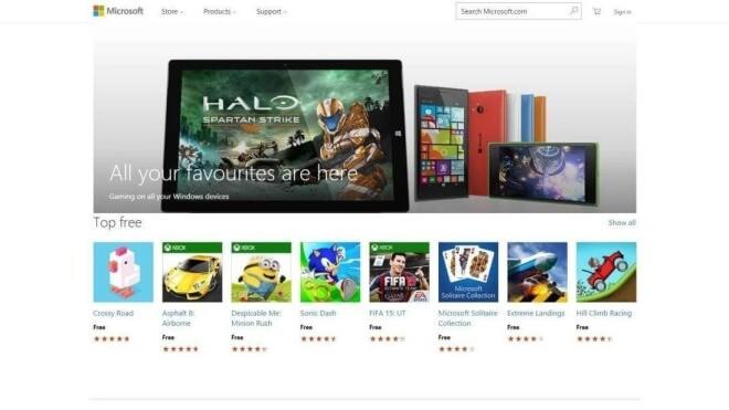 Windows 10, App Store, Windows Store, Universal Apps