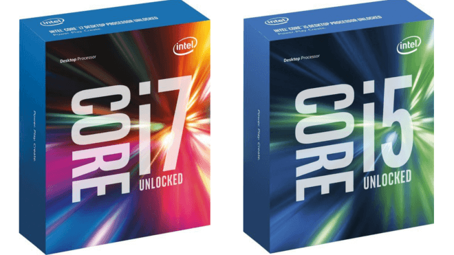 Intel Core i5, Skylake, Intel Skylake, Intel Core i7-6700K