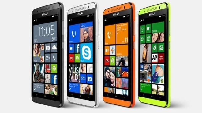 Windows Phone, Blu, Blu Products, Windows Smartphone, BLU Win HD LTE