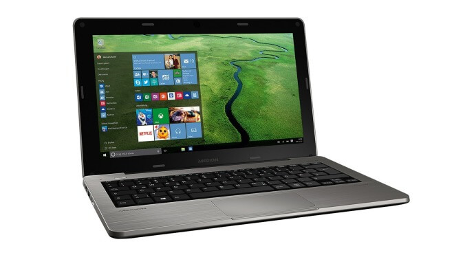 Netbook, Akoya, Windows 10 Notebook, ALDI Netbook, Medion Akoya S2218, Medion Netbook, Medion Notebook, Windows 10 Netbook