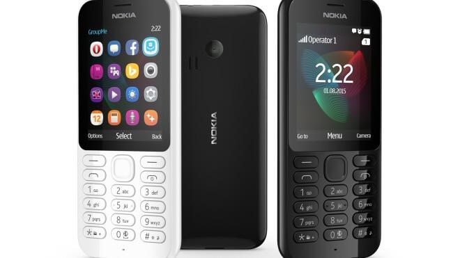 Nokia, Handy, Feature Phone, Nokia 222