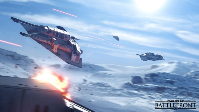 Star Wars, Star Wars Battlefront, Hoth