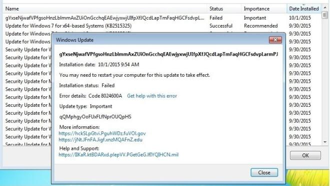 Update, Windows 7, Test, Windows Update