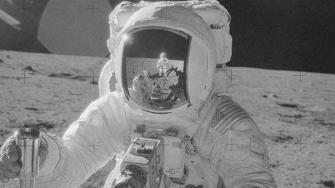 Nasa, Apollo, Mond, Astronaut, Mondlandung