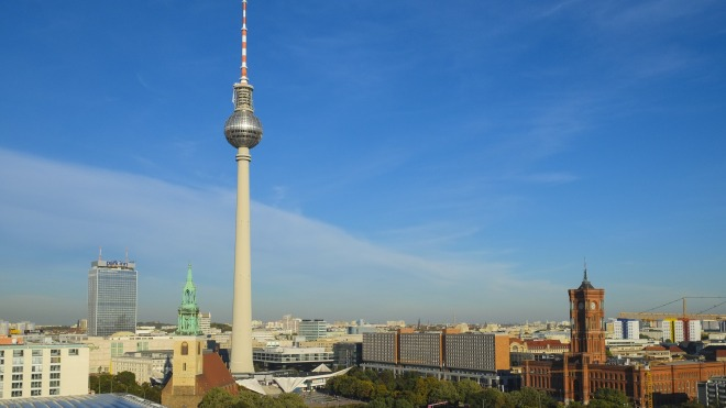 Berlin, Stadt, Fernsehturm