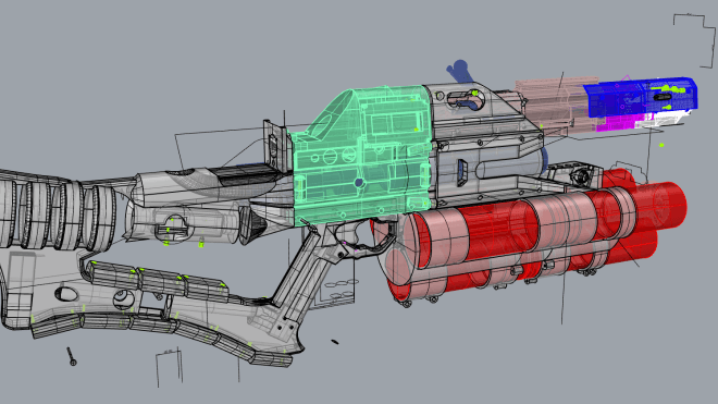 3D-Drucker, Basteln, Railgun