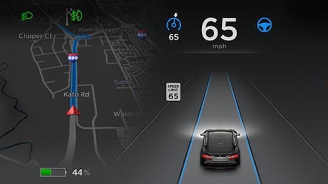 tesla, Autopilot, Softwareupdate 7.0, Tesla Model S