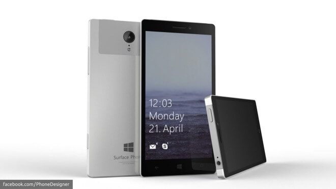 Konzept, Surface Phone, Surface Smartphone, Microsoft Surface Smartphone