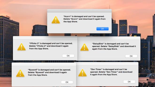 Apple, Fehler, App Store, Fehlermeldung, Mac App Store
