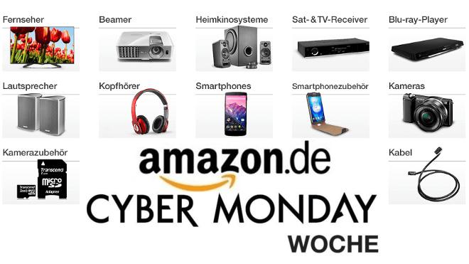 Amazon, Cyber Monday, Cyber Monday Woche, Amazon Cyber Monday Woche