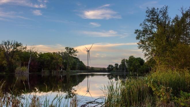 Microsoft, Windkraftwerk, EDF Renewable Energy