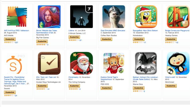 Android, Amazon, Apps, App Store, Amazon App Store, Amazon Underground