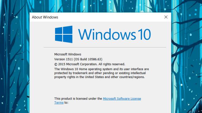 Microsoft, Windows 10, Patchday, kumulatives Update, Build 10586.63