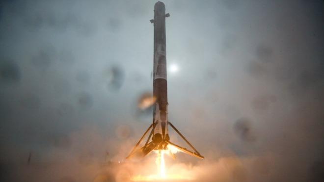Elon Musk, Rakete, Spacex, Landung, Falcon 9