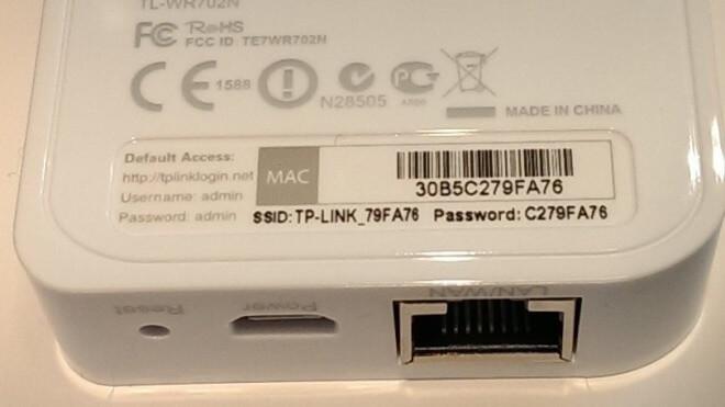 passwort, Router, TP-Link, MAC ID
