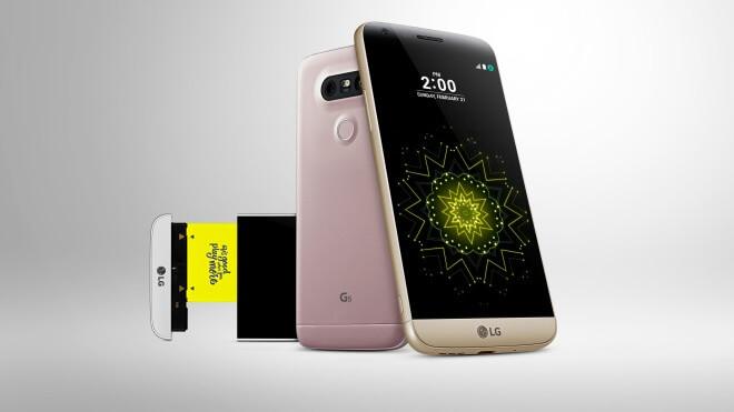 LG, LG Electronics, LG G5, Modulares Handy, G5