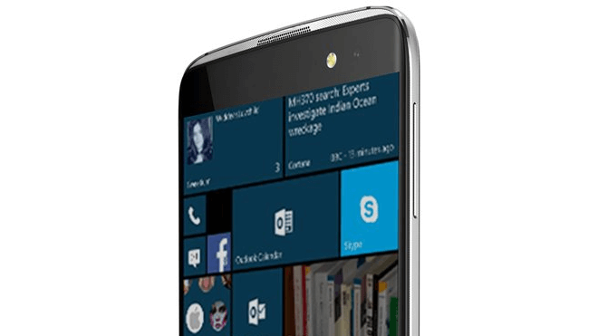 Windows 10 Mobile, Windows 10 Smartphone, Alcatel, Alcatel Idol 4 Pro, Alcatel Idol Pro 4