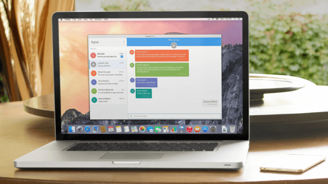 Signal, Crypto-Messenger, Signal Desktop, Whispersystems
