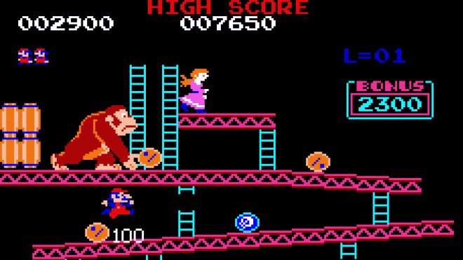 Spiel, Arcade, Donkey Kong