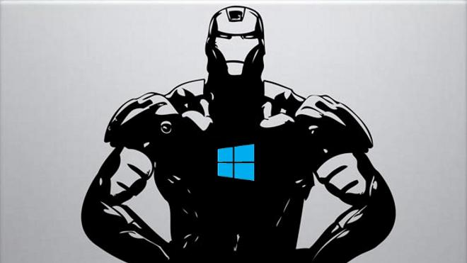 Windows 10, Iron Man, Windows Logo