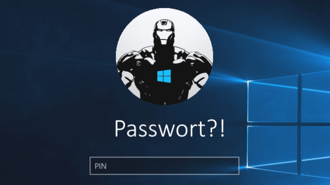 Windows 10, passwort, Login, kennwort