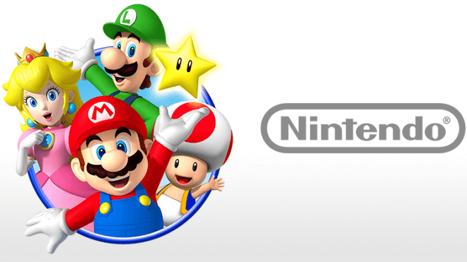 Logo, Nintendo, Super Mario, Videospiel Charaktere
