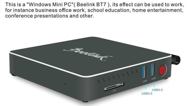 mini-pc, Windows 10 PC, Beelink BT7