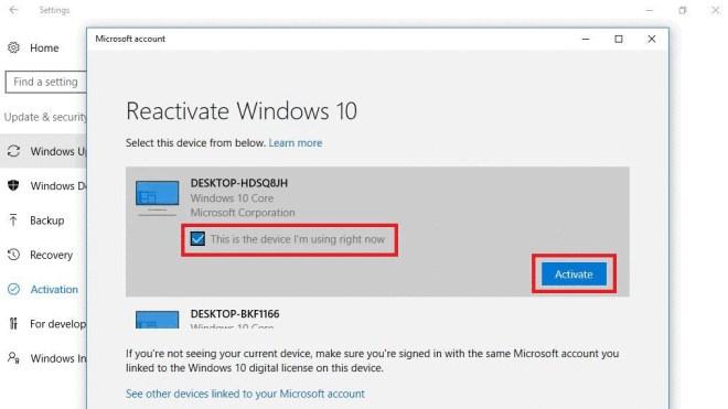 Windows 10, Aktivierung, Activation Troubleshooter, Reactivate Windows 10, Reaktivierung
