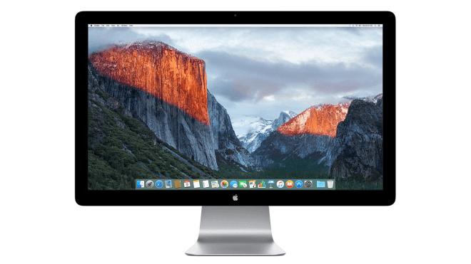 Apple, Monitor, Thunderbolt Display, Apple Thunderbolt Display