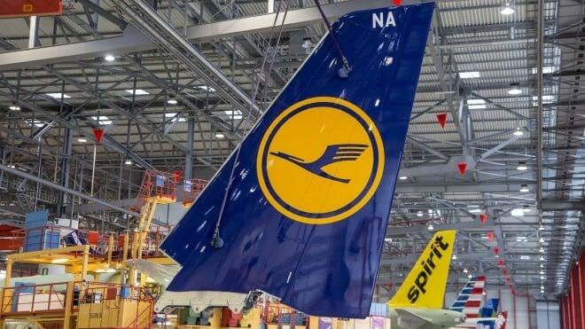 Internet, Wlan, Flugzeug, Lufthansa, Lufthansa Internet