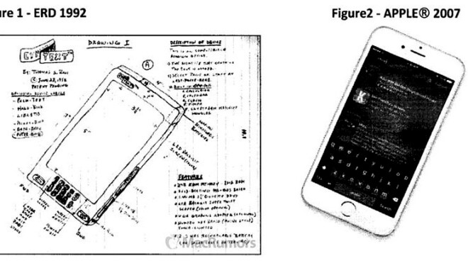 Apple, Iphone, Patent, Patentklage, geschmacksmuster