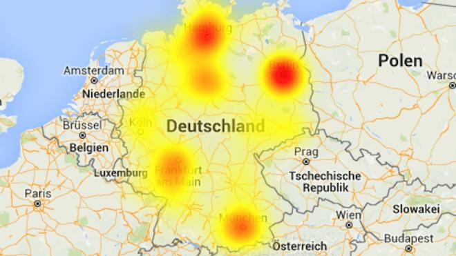 Deutschland, Kabel Deutschland, St�rungen, netzausfall