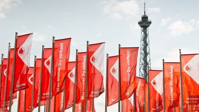Logo, Ifa, Vodafone, IFA 2014, Fahnen