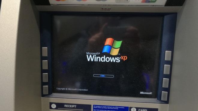 Windows Xp, Neustart, Geldautomat, Wincor-Nixdorf
