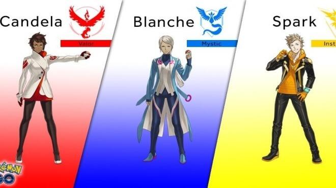 Pokemon, Pokemon Go, Niantic Labs, AR, Teams, Teamleader
