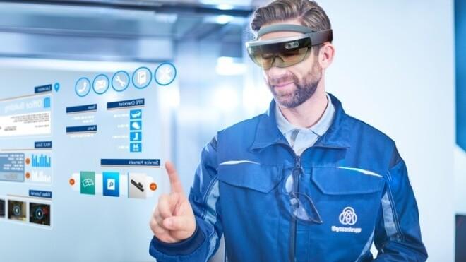 Microsoft, HoloLens, Microsoft HoloLens, AR, Thyssenkrupp