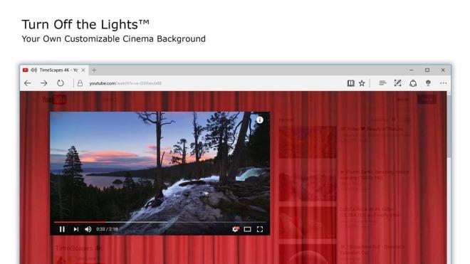 Edge, Microsoft Edge, Edge Extension, Browser-Erweiterung, Turn of the Lights