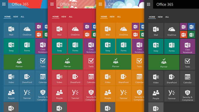 Microsoft, Apps, Office, Office 365, Themes, Office Web Apps, Office Online