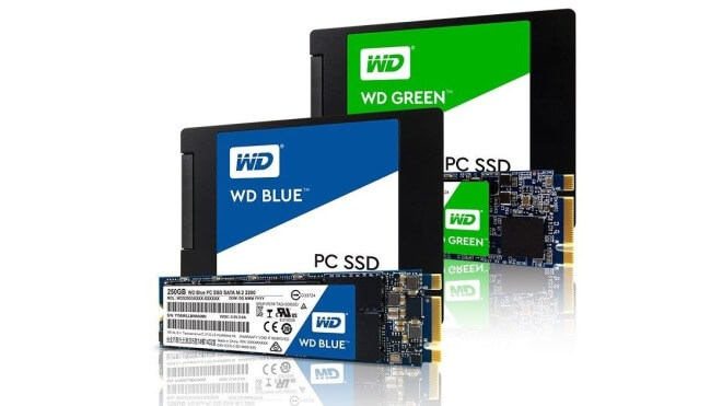 Ssd, Western Digital, Solid State Drive, WD Blue, WD Green