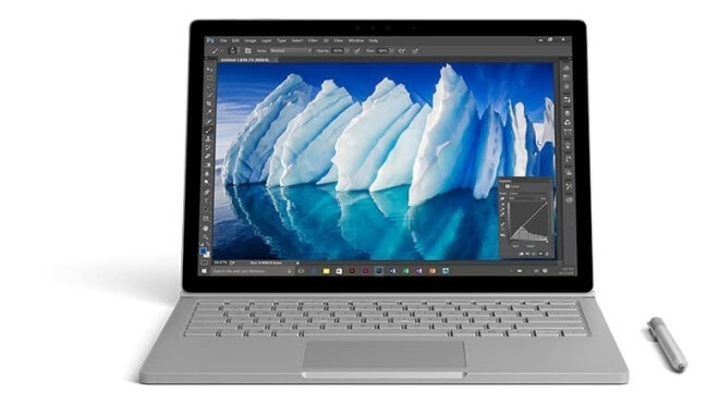 Microsoft Surface Book, Surface Book i7, Microsoft Surface Book with Performance Base