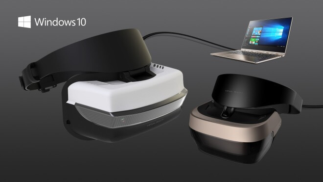 Microsoft, Windows 10, Virtual Reality, VR, Augmented Reality, Windows Holographic, Mixed Reality