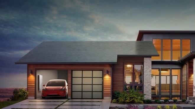 tesla, Solar, Solarenergie, Solar-Kacheln