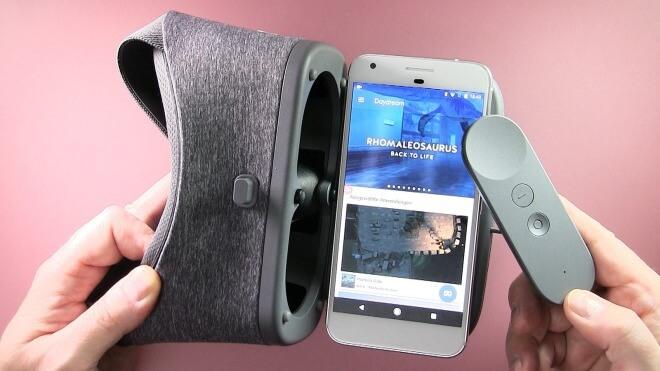 Google, Virtual Reality, VR, Lutz Herkner, Daydream