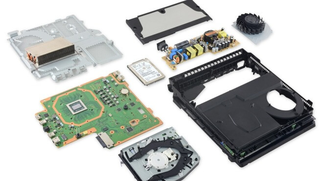 Sony PlayStation 4, Ifixit, Teardown, Sony PlayStation 4 Pro, PS 4 Pro