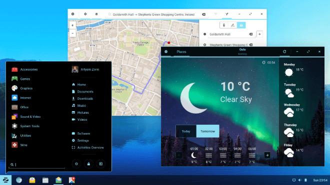 Linux, Desktop, Os, zorin, Zorin OS 12