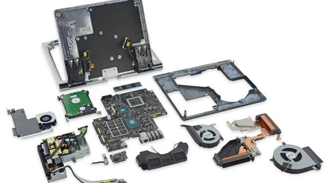 Teardown, Surface Studio, Microsoft Surface Studio