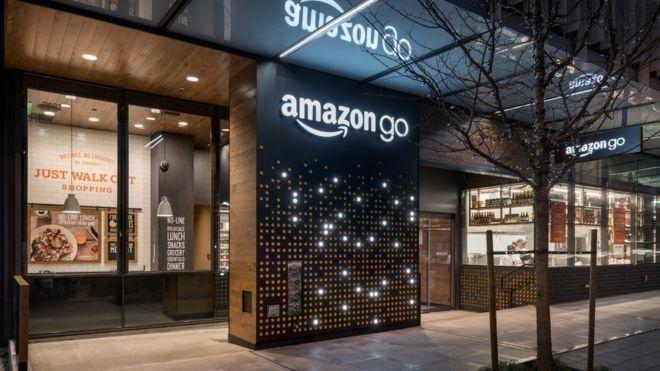 Amazon, Geschäft, Store, Shop, Amazon GO, Amazon Store