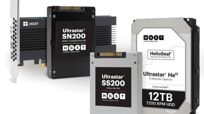 Speicher, Festplatte, Ssd, HGST