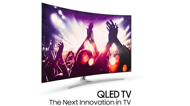 Samsung, Tv, Fernseher, QLED