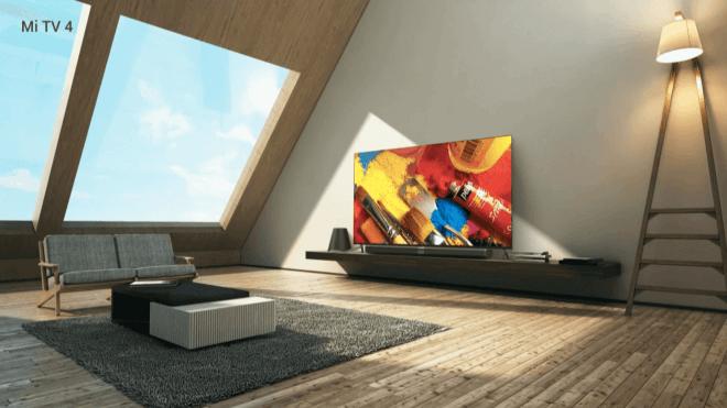Unter 5 Millimetern: Xiaomi Mi TV 4 ist dünner als jedes Smartphone